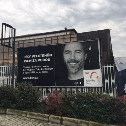 Brněnské veletrhy-billboard
